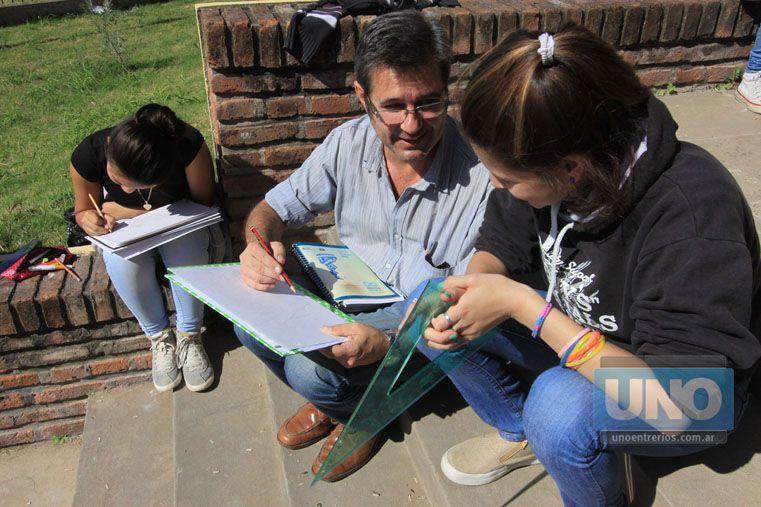 Formación. La escuela no puede hacerse la distraída.   Foto UNO/Juan Ignacio Pereira