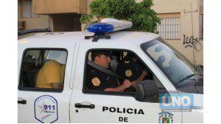 Libres. Los dos ladrones fueron liberados inmediatamente.   Foto UNO/Diego Arias