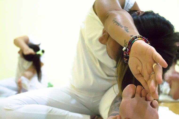 Preparación. Practicar yoga ayuda a nutrir el alma.
