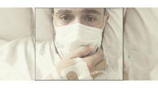 Actor argentino que triunfa en México estuvo 6 días internado con Influenza B