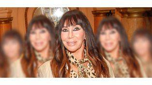 El retoque facial de Moria Casán