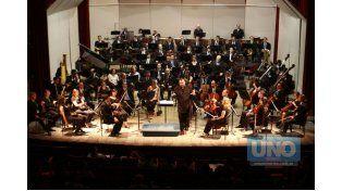 Libre y gratuita. El ciclo acerca a la Orquesta con su público.  Foto UNO/Archivo