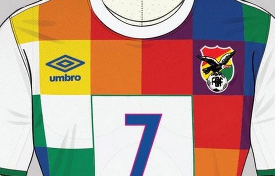 Amenazas por diseño de una camiseta de Bolivia