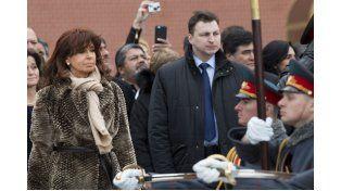 Cristina destacó la larga tradición de la relación bilateral con Rusia en materia energética