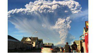 Aseguraron que, en las próximas 24 horas, no llegarán a la provincia cenizas del volcán Calbuco
