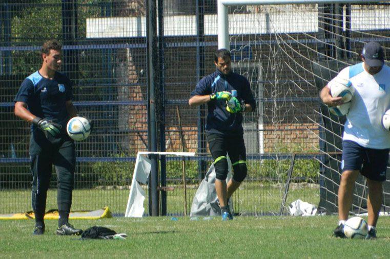 David Correa fue promovido a principios de año para trabajar con los arqueros de Primera División.