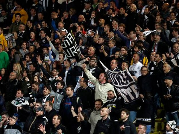 Juventus reguló la serie y se metió en semis de la Champions League