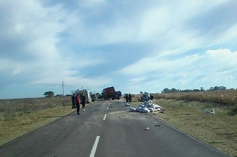 Murió un joven kinesiólogo de Gualeguay tras un triple choque en la ruta 12