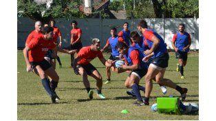 El paranaense sigue estando en la consideración del entrenador Daniel Hourcade. Foto Gentileza/Prensa UAR