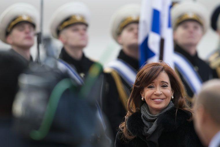 La Presidenta en Rusia. Foto: AP
