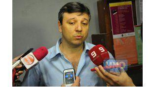 Fornerón. Va por la nulidad.  Foto UNO/Juan Manuel Hernández