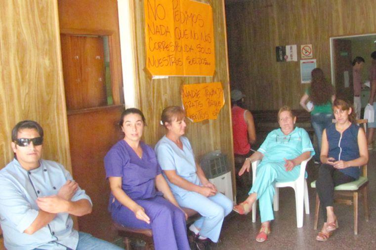 Empleados del sanatorio Americano de Villaguay concretan un paro por tiempo indeterminado