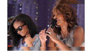 Se despertó del coma inducido la hija de Whitney Houston