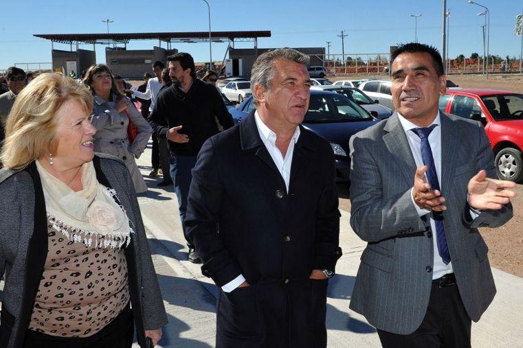 Urribarri expresó su apoyo a Recalde