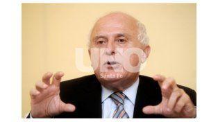 El ex intendente de Rosario habló desde su bunker. Foto: UNO Santa Fe