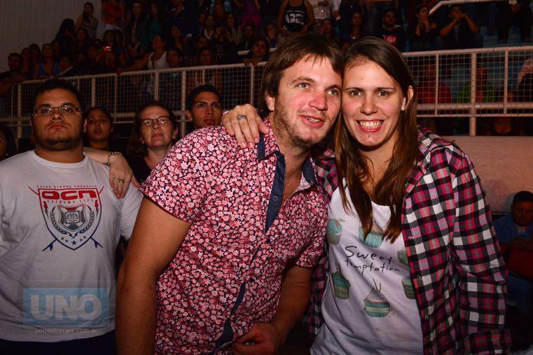 Abel Pintos enamoró a Paraná