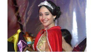 En Ibicuy. Sofía fue electa Miss Entre Ríos el fin de semana.