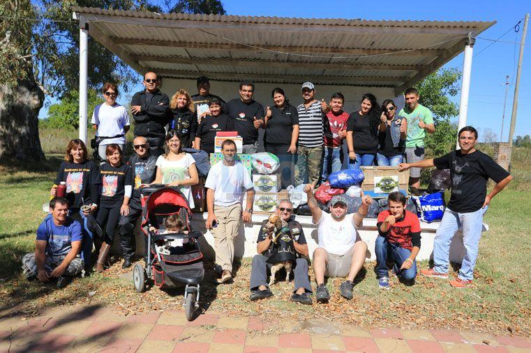 Solidarios. Unidos por su pasión por la moto