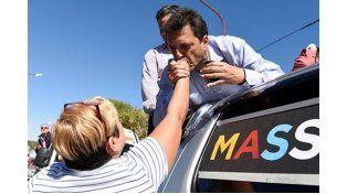 Sergio Massa visitó Paraná pero no dio el nombre del candidato entrerriano