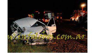 Un muerto y cuatro heridos en un choque múltiple en la ruta 205