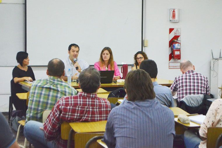 Capacitación. Participaron de la convocatoria realizada por la provincia 60 investigadores y empresarios.