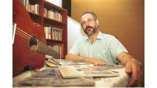 El autor conjugará letras y música en la presentación de hoy.  Foto UNO/Juan Ignacio Pereira