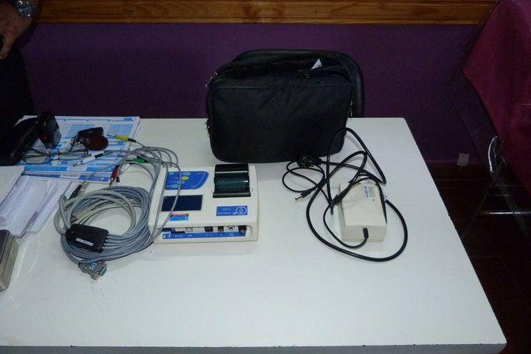Entregaron electrocardiógrafos a centros de salud de Paraná