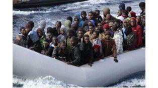 Precariedad. Los africanos escapan de la guerra civil y del hambre