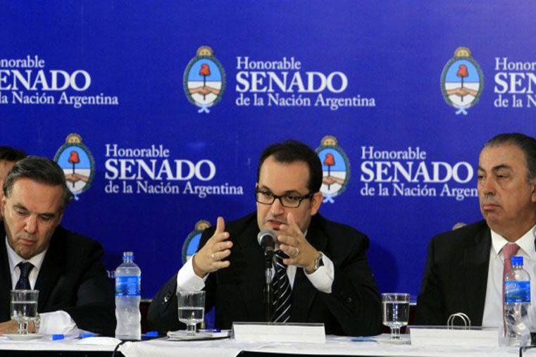 Sin los votos. El pliego de Carlés no logra ser apoyado por los dos tercios de los senadores nacionales.  Foto: Télam