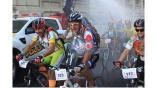 Exitosa. En Semana Santa 274 ciclistas realizaron el circuito 7 Iglesias 7 Pueblos recorriendo 75 kilómetros.    Foto UNO/Juan Ignacio Pereira