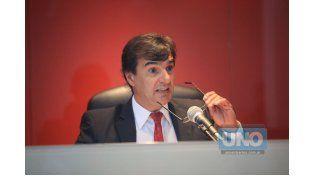 Juez. Habló del uso de armas.    Foto UNO/Diego Arias