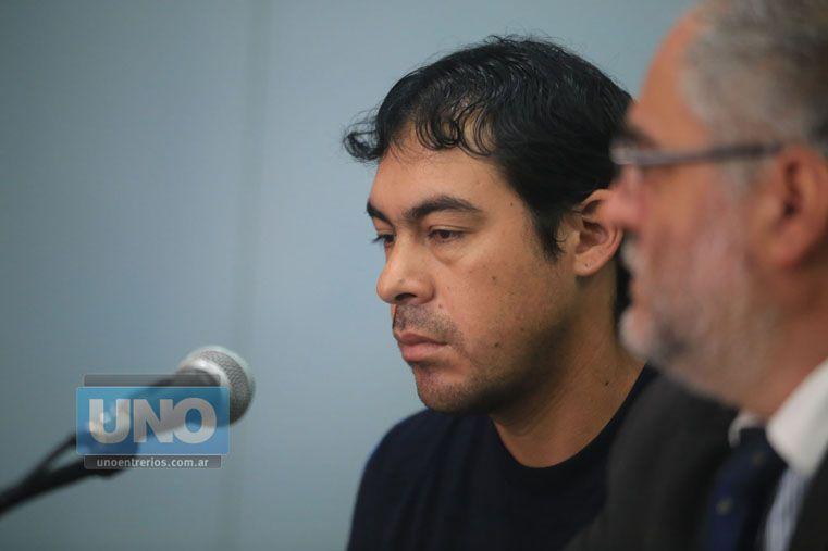 Apenado. A Palma se lo notó sumido en la angustia por matar a un bebé.  Foto UNO/Diego Arias