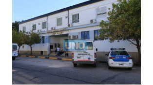 La adolescente permanece en terapia intensiva del hospital San Roque de Paraná. Foto UNO/Diego Arias