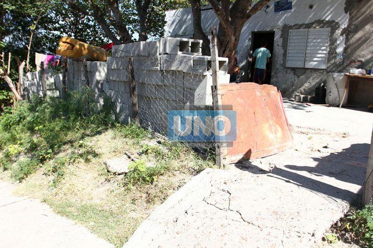 Salvaje. Palma disparó 16 balazos a la casa de los Sosa y mató a Byron. Foto UNO/Diego Arias