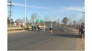 Trabajadores de la fruta cortaron la autovía 14 cada 10 minutos en Chajarí
