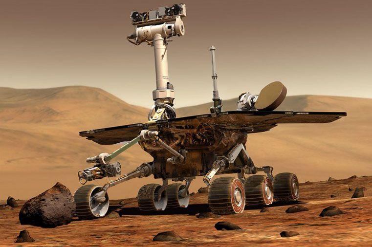 El Curiosity halló indicios de agua salada en Marte