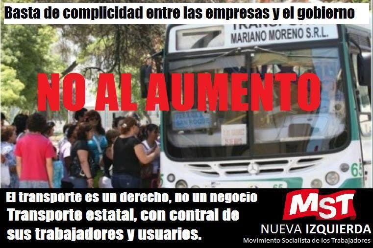 Usuarios de colectivos de Paraná protestarán contra la suba del boleto
