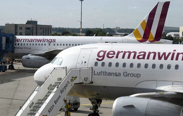Un avión de Germanwings suspendió el despegue por una amenaza de bomba
