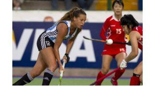 Las chicas vencieron 2 a 0 a Corea.