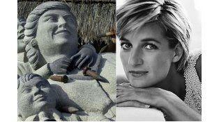 La mujer de la estatua de piedra podría ser cualquiera
