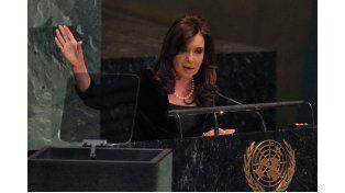 Como en los distintos reclamos ante la ONU Cristina hará hincapié en Malvinas y los fondos buitres.