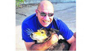 Pasaron a retiro a Corbata, el perro que ayudó a buscar a Fernanda Aguirre