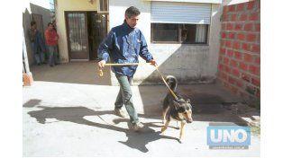 Corbata trabajando en el caso Fernanda. (Foto: UNO/Archivo)