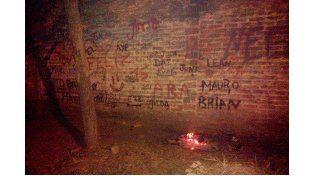 Lugar del hecho. Foto: Gualeguay21