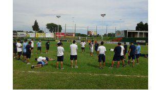 Los entrenamientos serán partidos entre los mismos convocados. Foto Gentileza / CAS