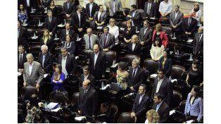 Una gran mayoría. El proyecto fue aprobado ayer y ahora pasó a la Cámara de Senadores de la Nación. Foto: Télam