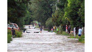 Drama. En Tucumán mucha gente perdió todo por la inundación. Foto: Télam