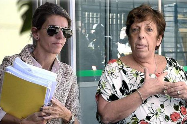 Fein y Arroyo Salgado estarán frente a frente hoy en la audiencia por la causa Nisman. Foto: Télam