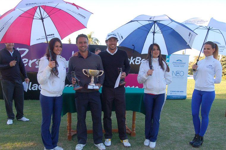 Rafael Echenique y Emilio Domínguez fueron los vencedores del Abierto de la Mesopotamia de 2014. Buscarán repetir el éxito.