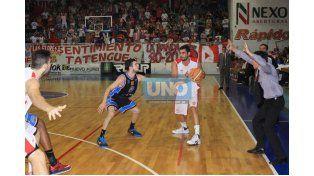 El equipo de Paraná viene de ganar los dos en el Butta. Lisandro Ruiz Moreno fue una de las figuras.  Foto OVACIÓN / Juan Ignacio Pereira